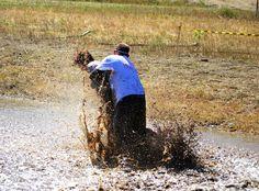 One muddy tackle (2013 5K)