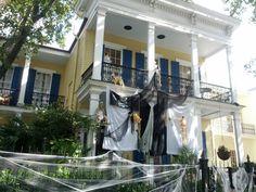 Halloween Garden District New Orleans