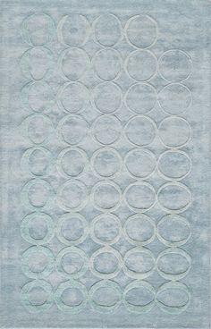 Millenia Hand-Tufted Blue Area Rug