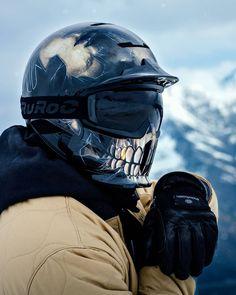 Faites face à la Peur. #TheFear #Seulement500 #SoyezPrêts . . . . #Ruroc #RurocArmy #Rheon #Recco #Ski #Snowboard #Casque #Intégral #Poudreuse #Freeride #Ride #Neige #Hiver #Montagne #Montagnes Snowboard Pants, Ski And Snowboard, Snow Fun, Vivarium, Face Design, Bikers, Riding Helmets, Skate, Skiing