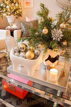 Cuckoo 4 Design: Blogger Stylin Christmas Home Tour 2013