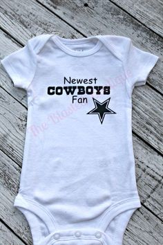 Dallas Cowboys Onesie Newborn Cowboys Outfit by TheBlastedBoutique. mindy  dejarnett · Baby 3 · This Is My Last One SERIOUSLY Shirt. fb78cdb68