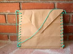 Treasure Hunt Kit Made from One Brown Paper Bag