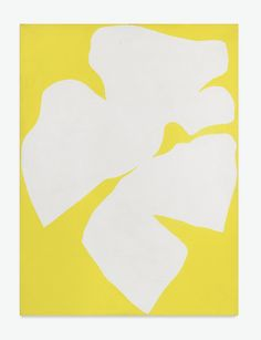Ellsworth Kelly B. 1923 WHITE YELLOW signed with initials and inscribed For Louis Clayeux Jan. 1958 on the reverse, oil on canvas 16 x 12 in. Executed in Ellsworth Kelly, Yellow Art, Mellow Yellow, Action Painting, Painting & Drawing, Art Jaune, Modern Art, Contemporary Art, Art Minimaliste