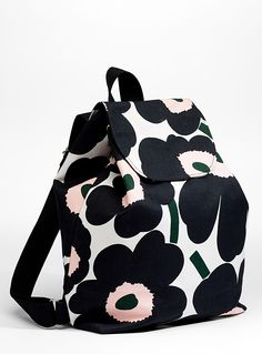 Find exceptional luxury clothes, shoes, bags and accessories designs from the latest collection for women by Marimekko. Marimekko Bag, Flower Bag, Cloth Bags, Designer Collection, Designing Women, Purses And Bags, Print Patterns, Cool Style, Backpacks
