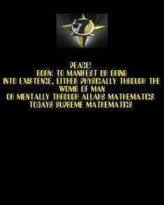 Today's Supreme Mathematics-8