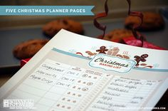 Christmas Planner Pages
