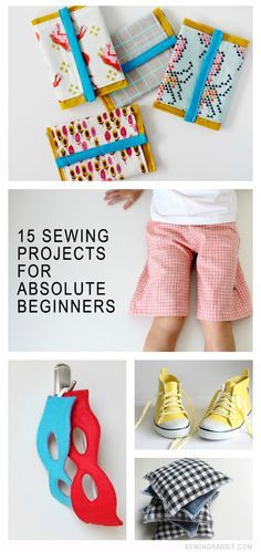 15 Sewing DIYs for the Absolute Beginner via @mesewcrazy | Beginner sewing projects