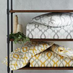 displaying comforters