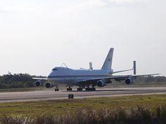 NASA - Shuttle Carrier Aircraft Arrives at Kennedy