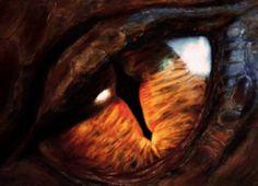 Smaug The Dragon's Eye Super Cool! #Smaug #TheHobbit