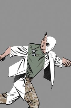 RUN FOR YOUR LIVES! - The asylum wasn't the first institution Marc Spector escaped, or the first that rejected him. - Is MOON KNIGHT stronger alone, or more vulnerable? - Trapped outside of reality, h