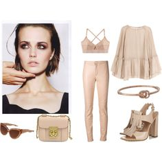 Designer Clothes, Shoes & Bags for Women Powder Pink, One Color, Shoe Bag, Polyvore, Stuff To Buy, Shopping, Collection, Design, Women
