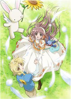 """Kobato ~~ The evil bunny from """"Wish"""" named Usagi-sama drops in on Kohaku and Kobato"""