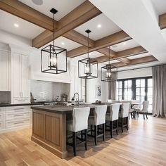 Rustic Kitchen Design, Home Decor Kitchen, Home Decor Bedroom, New Kitchen, Home Kitchens, Kitchen Ideas, Cuisines Design, Beautiful Kitchens, Home Design