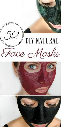 DIY face masks are incredibly easy to make and you likely already have the ingredients to make them! Here are 52 DIY face masks for you to make! That's one for each week of the year! #facemasks #naturalskincare #52diy #ayearof #greenbeauty #diy