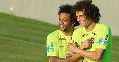 David Luiz & Marcelo Vieira #Brasil
