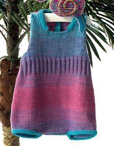 knit summer babysuit/pelele tricot verano
