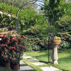 1000 id es sur le th me arche jardin sur pinterest - Arche metallique jardin ...