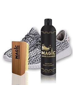 ) - Fabric Cleaner Solution w/ Shoe Brush - Non Toxic Leather Shoe Cleaner, White Shoe Cleaner, Black Dress Shoes, White Shoes, Suede Shoes, Leather Shoes, Shoe Types, Money Jars, Professional Shoes