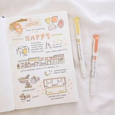 Image in bullet journal collection by mickey on we heart it Bullet Journal Notes, Bullet Journal Aesthetic, Bullet Journal Writing, Bullet Journal Spread, Bullet Journal Layout, Book Journal, Journal Inspiration, Journal Ideas, To Do Planner