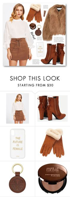 """""""romwe contest"""" by fictionfree ❤ liked on Polyvore featuring Marni, Sonix, UGG, MAKE UP FOR EVER and Clinique"""