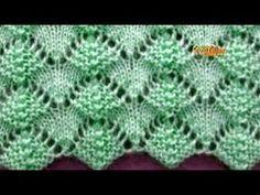 Kate's Crochet World Lace Knitting Stitches, Lace Knitting Patterns, Knitting Designs, Stitch Patterns, Crochet Flower Headbands, Crochet Headband Pattern, Diy Crafts Knitting, Easy Knitting, Crochet Video