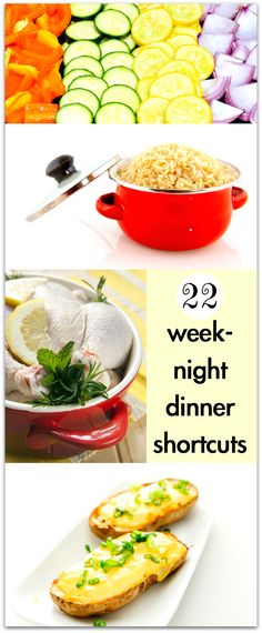 Susanne's 22 weeknight dinner shortcuts below just might change your life. Seriously. When I read them, I imm