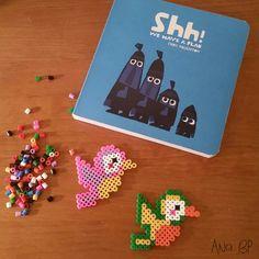 ¡Shhh! Tenemos un plan. Actividad: hacemos pájaros de colores con Hama Beads