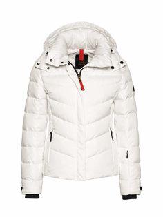 SKI DOWN JACKET SALLY3 in White for Women | BOGNER USA #downjacket