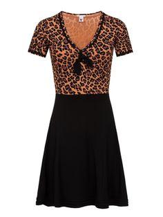 Pussy Deluxe Sailor Leo Dress, Kleid schwarz