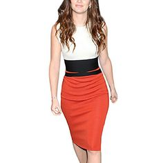 Women's Celebrity Midi Pencil Evening Midi Dress – USD $ 17.49