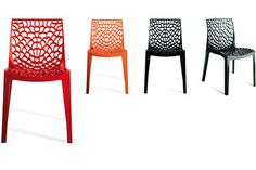 Fantastic Plastic Furniture - Lattice Indoor and Outdoor Plastic Chair