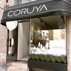 Myymälä on avattu, tervetuloa! | We are open, welcome!  #coruya #avajaiset #opening #korkeavuorenkatu #helsinki #happening #jewelryshop