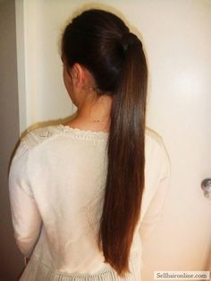 Awesome LONG HAIR FOR SALE Check more at http://sellhaironline.com/ads/beautiful-virgin-brunette-hair/