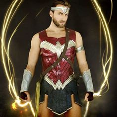 Image result for wonder man cosplay