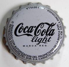 Coca-Cola Light. Embotellada en Sevilla