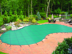 Every year it seems like summer flies by, and swimming pool season must come to an end. Even though you may not be poolside until next year, there's no reason why you can't enjoy your backyard once the pool cover is on. Here are some ways to keep your backyard looking great when the weather cools off.