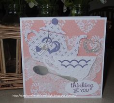 Cards on the table with Vicki: Delicate and Dainty Time for Tea
