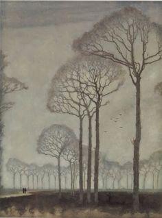 Trees -  Jan Mankes (1915)