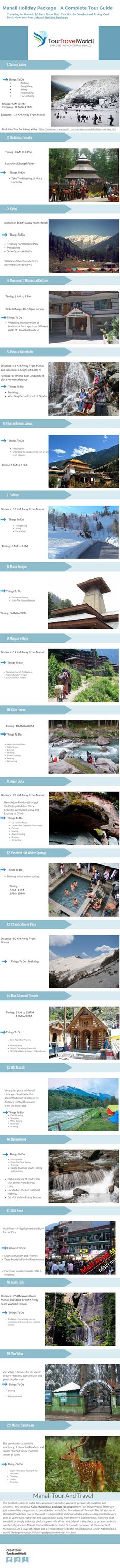 Get a diverse range of Manali Tour Packages @ TourTravelWorld. Book now one of the best Kullu Manali holiday packages, Manali honeymoon tour packages in 2930 available packages. Honeymoon Tour Packages, Kullu Manali, India Gate, Leh Ladakh, Famous Places, Group Tours, Tour Guide, Tourism, How To Memorize Things