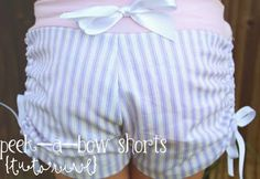 Peek-a-Bow Shorts