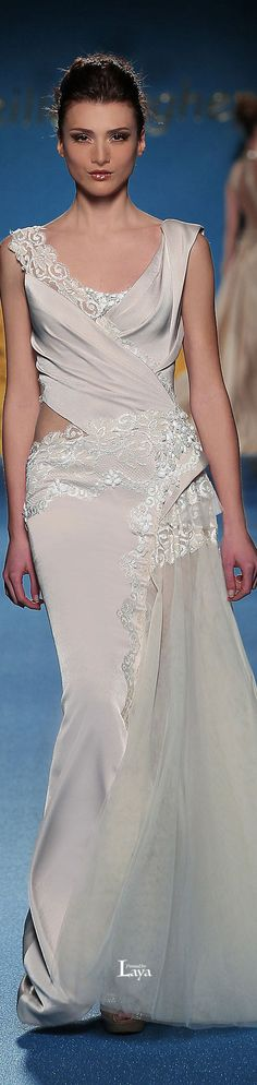 MIREILLE DAGHER Spring-Summer 2014 COUTURE