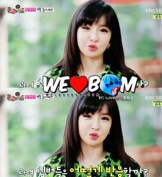 Park Bom chu!