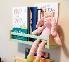 14 IKEA hacks for babies nursery: Spice racks make the most adorable bookshelves for little readers | Mum's Grapevine