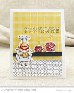 My Recipe for Happiness by Bar - Cards and Paper Crafts at Splitcoaststampers