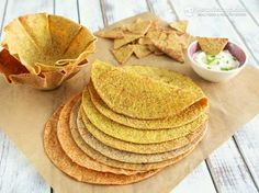 Best Keto Tortillas & Taco Shells. Use all flaxmeal, no almond flour. These look amazing AND great source for omega's and fiber! yay!