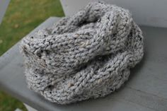 A Crafty House | Knit and Crochet Patterns and Accessories: Quick Cable Double Cowl Knit Pattern