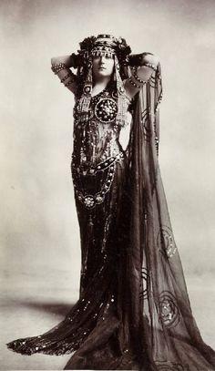 ♕ Vintage Costume Variations ♕ harem costume