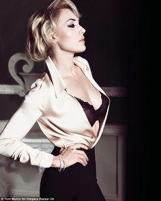 Kate Winslet UK Harper's Bazaar November 2011